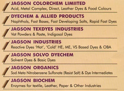 JAGSON GROUP OF INDUSTRIES